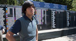 Javier Ballesteros, hijo de Seve, se hace jugador profesional