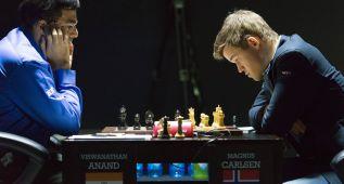 Segunda victoria de Magnus Carlsen sobre el indio Anand