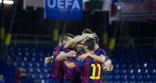 El Barcelona defenderá título tras una fiesta en el Palau