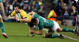 Irlanda supera a Australia gracias a una gran defensa