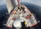 El 'Mapfre' navega quinto tras atravesar una zona de calmas