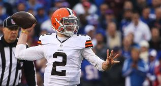 El mediático Johnny 'Football', por fin titular con los Browns