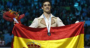 Javier Fernández seduce a Barcelona y gana la plata
