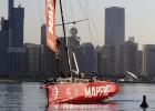 El 'Mapfre' marcha quinto en la general de la Volvo Ocean Race