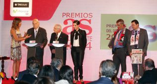 Puyol y Pellegrini, premios sorpresa en la Gala de AS