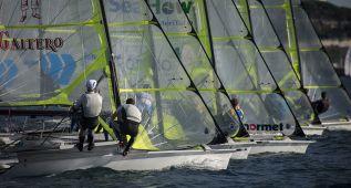 Cuatro barcos españoles dominan en la primera jornada