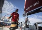 El 'Mapfre' sigue en la pelea por el podio camino de Malaca