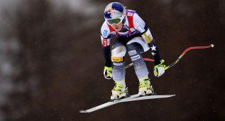 Vonn gana el descenso e iguala el récord de Annemarie Moser