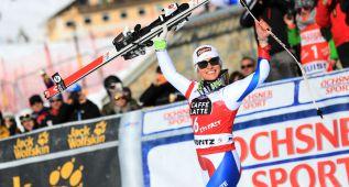 Lara Gut se lleva el descenso de Saint Moritz; Carolina Ruiz, 7ª