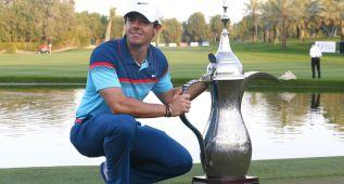 El norirlandés McIlroy, campeón por segunda vez en Dubai