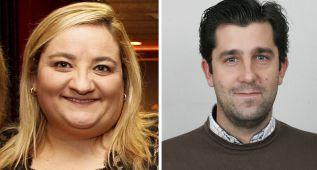 Carmen Colino, editora jefe de Redes Sociales; Tomás de Cos, editor jefe de AS América