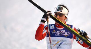 Marit Bjoergen logra en el esprint su 13 título mundial