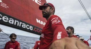 El Mapfre se reengancha en el reagrupamiento de la flota