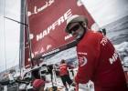 El 'Mapfre' lidera la etapa a un día para llegar a la meta