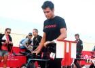 Javier Gómez Noya abandonó por una lesión en el glúteo