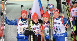 La República Checa gana por primera vez el relevo mixto