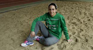 Patricia Sarrapio, una 'profesora' en la élite del triple europeo