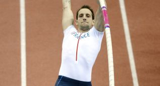 Renaud Lavillenie: después del susto, posible ataque al récord