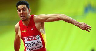 Plata para Torrijos en triple, con récord español incluido: 17,04