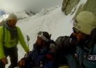 Txikon, a 900 metros de lograr la cima del Nanga en invierno