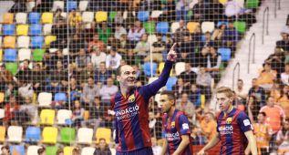 El Barcelona llega con paso firme a la final ante el Jaén