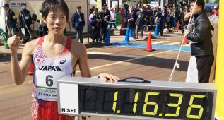 Yusuke Suzuki bate el récord mundial de 20 km marcha
