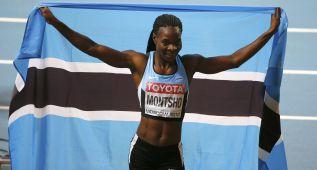 Montsho, excampeona mundial de 400, suspendida por dopaje