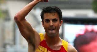 López, campeón de España de 20 km marcha por tercera vez
