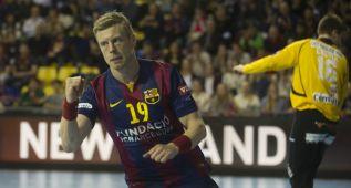 El Barça cubrió expediente ante el Aalborg y espera rival