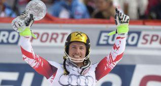 Hirscher también gana el globo de cristal de eslalon