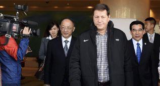 Miembros del COI visitan los estadios propuestos por Pekín