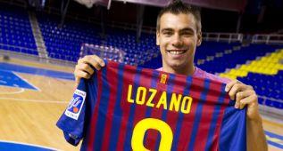 Sergio Lozano se perderá tres partidos con el Barcelona