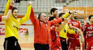 El Gijón, último de la Asobal, llega a una histórica Final a 4