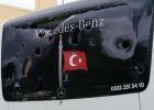 Más violencia: apedreado el bus del Besiktas de balonmano