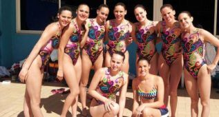 España alcanza la plata en rutina técnica por equipos