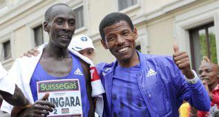 Mungara, 2h 08:44 en maratón con 41 años, récord mundial