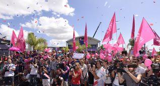'Dongfeng' llega a Itajai y competirá en la sexta etapa