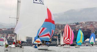 Jornada final del Trofeo Social en aguas de El Abra vizcaína