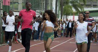 Usain Bolt aplaza los récords mundiales para el próximo año