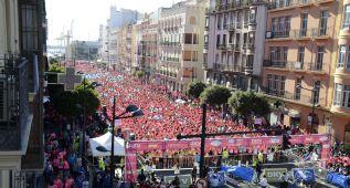 12.000 participantes en la Carrera de la Mujer de Valencia