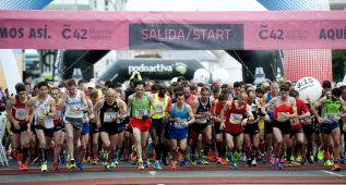 Penas ganó la maratón de A Coruña y Veiga los 10 km