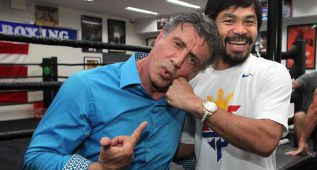 Rocky elige a Manny Pacquiao