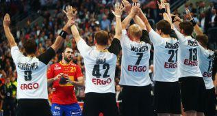 España cae ante Alemania 29-28 y se acaba la buena racha