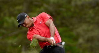 Tiger Woods dolido por la ruptura con Lindsey Vonn