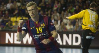 El Barça arrolla al Guadalajara en su marcha imparable: 45-30
