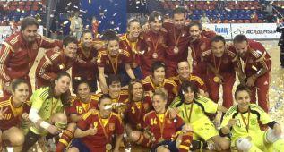 España vence a Rusia por 2-1 y revalida el título en Moscú