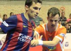 El Ribera gana al Barça (4-3) y el Inter golea en Peñíscola (3-7)
