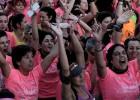 32.000 mujeres en la Marea Rosa contra el cáncer de mama