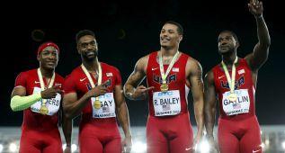 El 4x100 de EE UU, a devolver la medalla por el dopaje de Gay