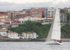 Cruceros, monotipos J 80 y barcos de vela ligera en El Abra